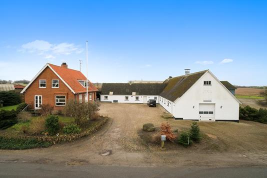 Planteavlsgård på Rodevej i Vig - Ejendommen