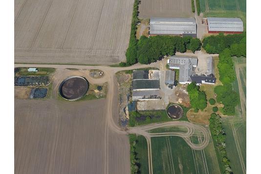 Kvæggård på Vestergårdvej i Toftlund - Andet