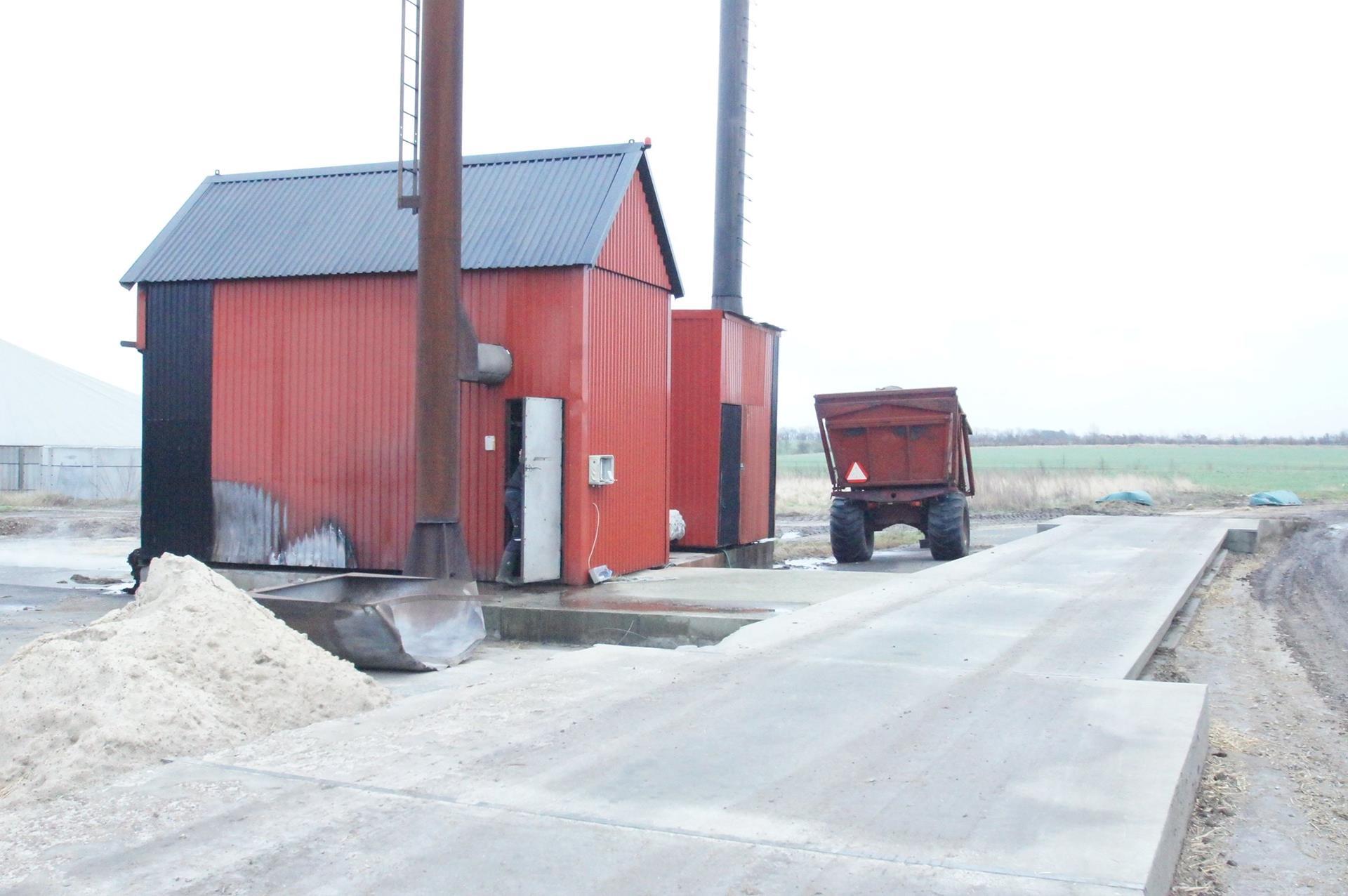 Kvæggård på Nørgaardsvej i Gedsted - Brovægt