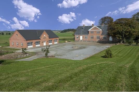 Kvæggård på Nørgaardsvej i Gedsted - Ejendommen