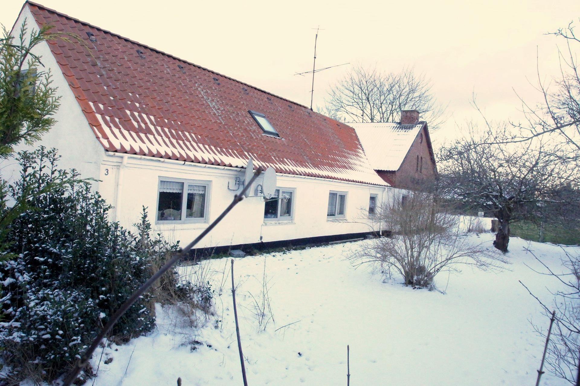 Kvæggård på Kærmindevej i Bindslev - Stuehus ejd. nr. 2