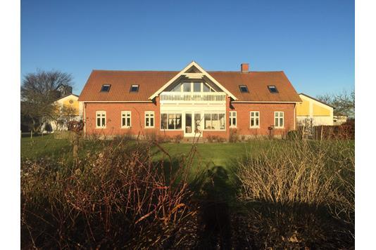 Kvæggård på Sønderskovvej i Gandrup - Stuehus