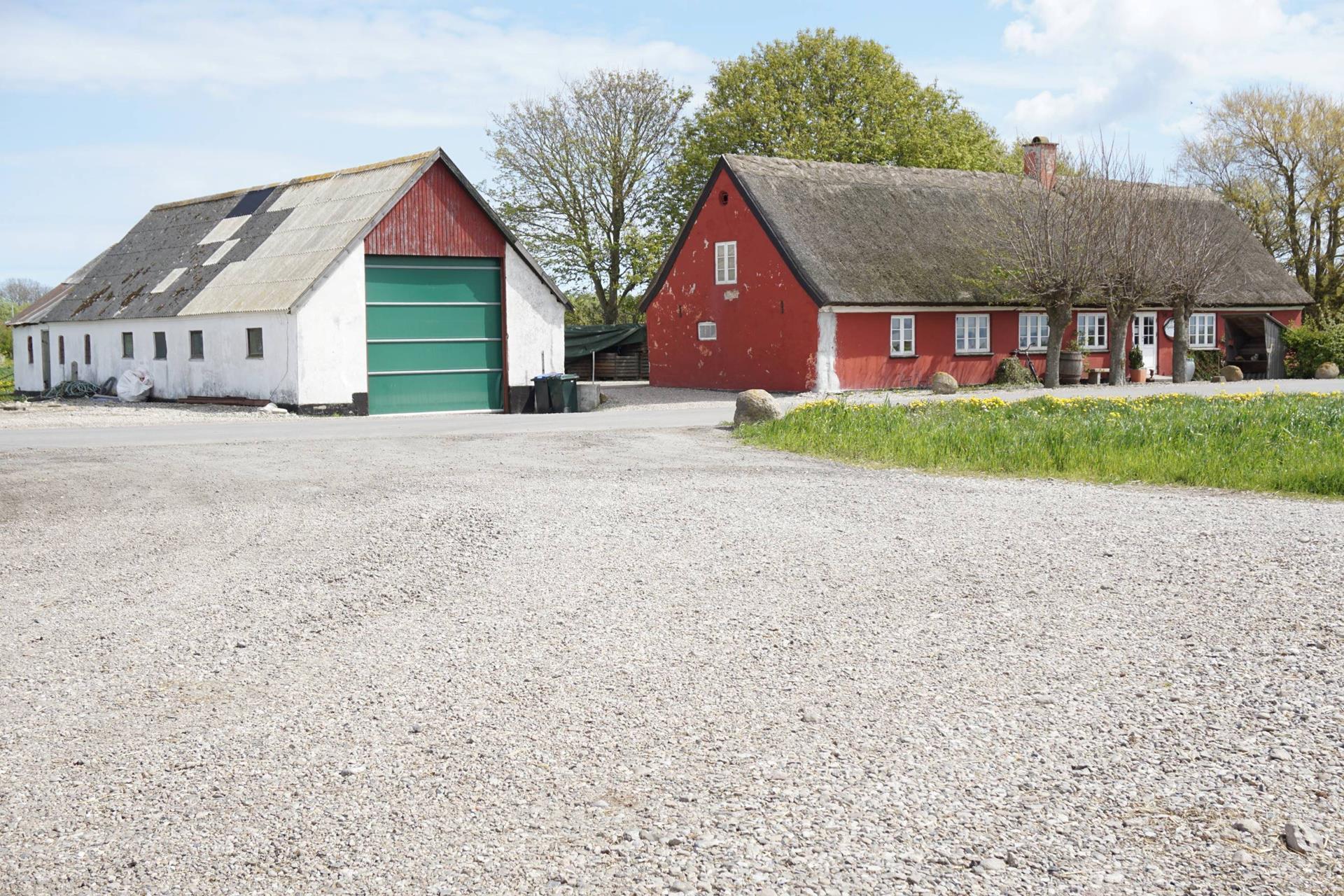 Kvæggård på Søndervangsvej i Sjællands Odde - Anden bygning