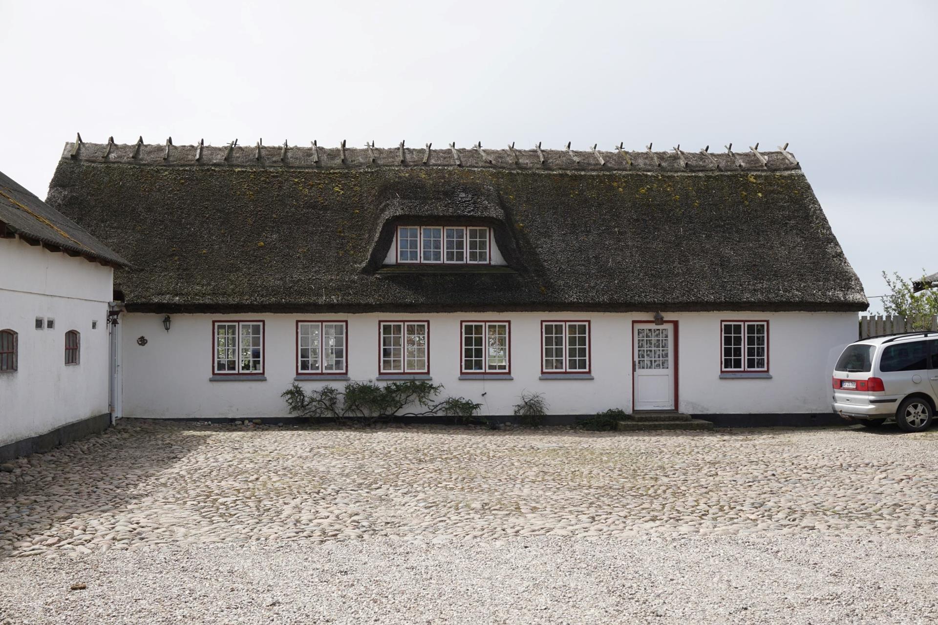 Kvæggård på Søndervangsvej i Sjællands Odde - Stuehus