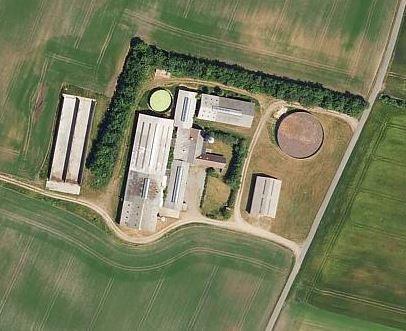 Kvæggård på Kærvej i Holstebro - Ejendommen
