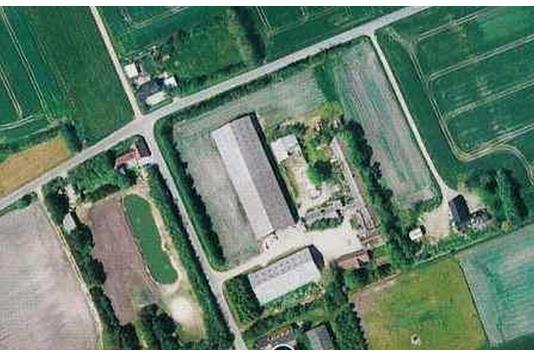 Planteavlsgård på Mou Kær i Brovst - Ejendommen