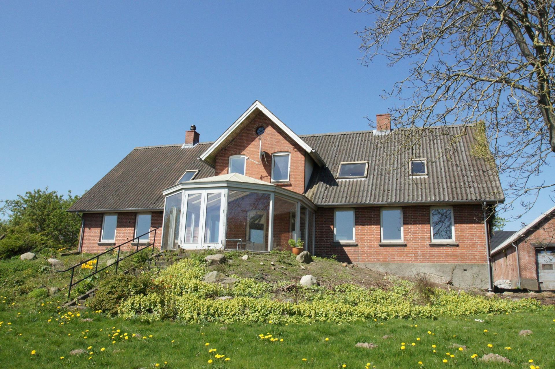 Planteavlsgård på Silkeborgvej i Horsens - Ejendommen