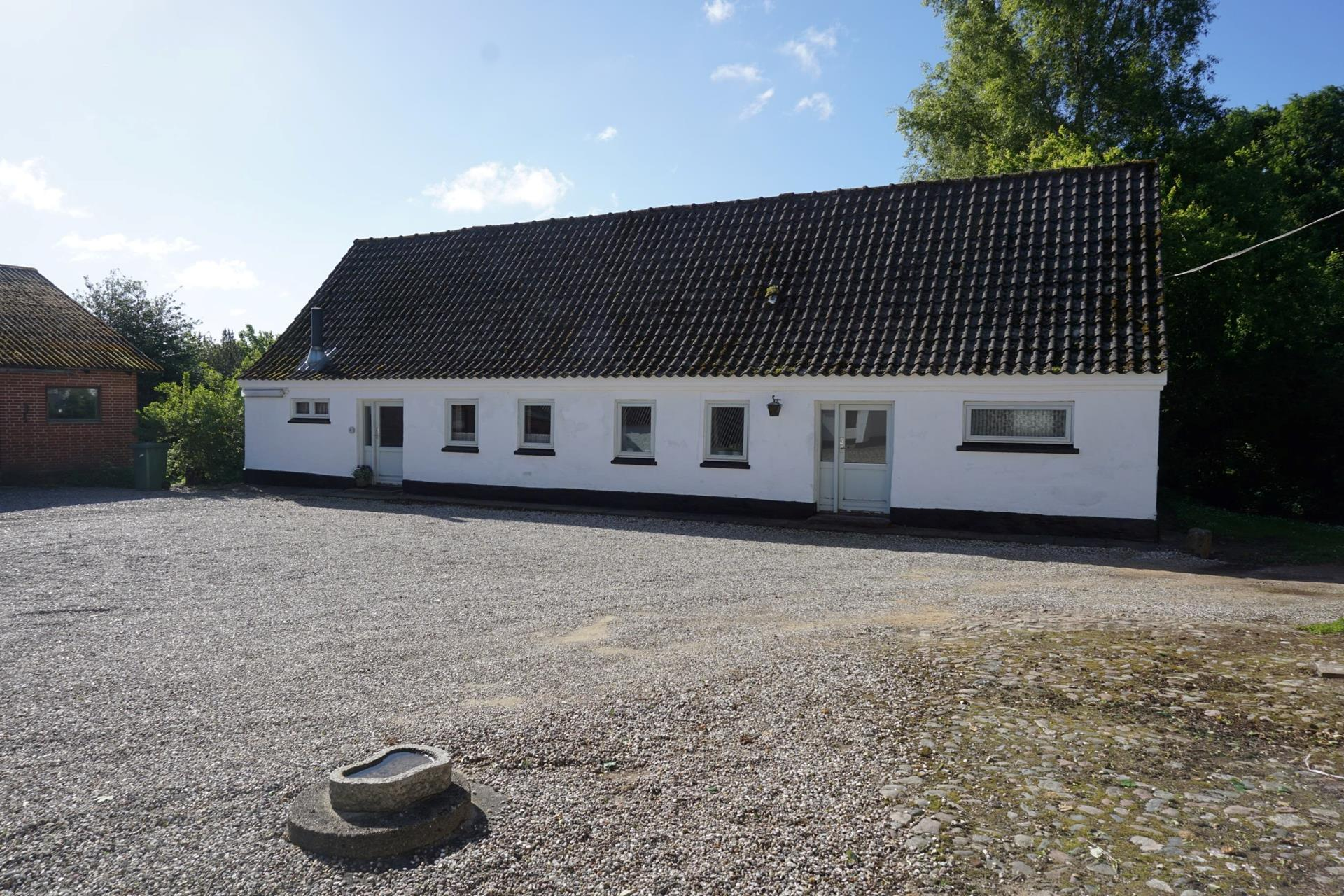 Planteavlsgård på Dorfvej i Dronninglund - Stuehus