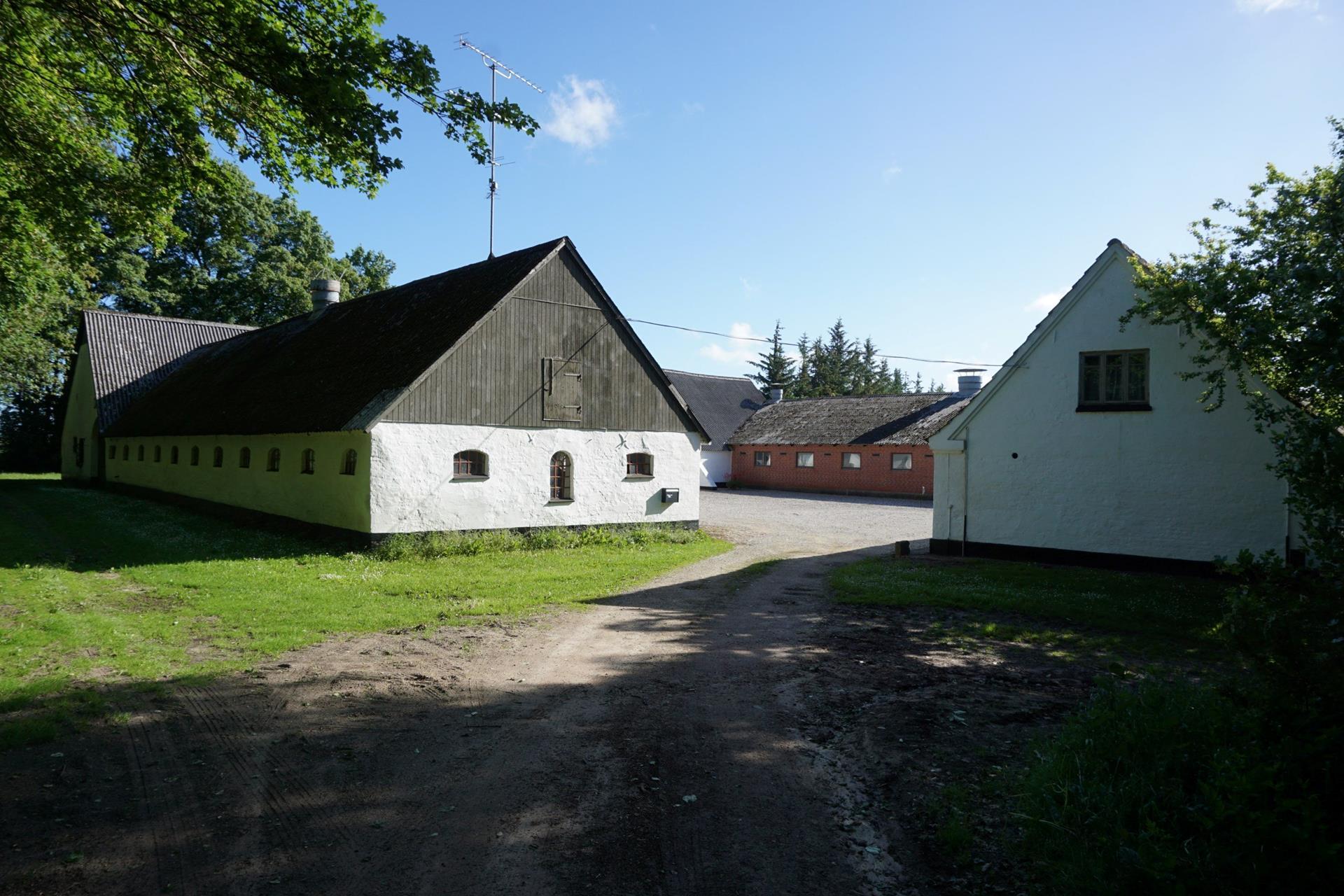 Planteavlsgård på Dorfvej i Dronninglund - Driftsbygning