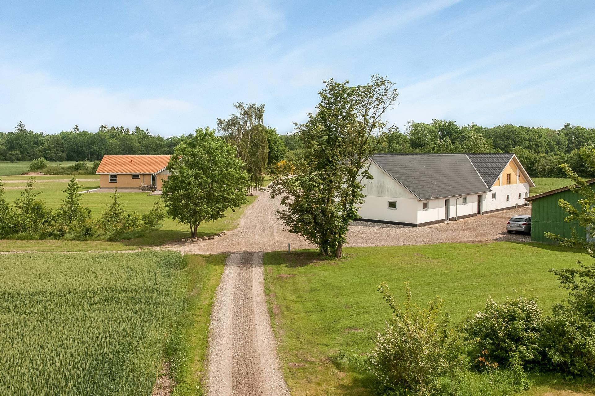 Planteavlsgård på V Hassingvej i Hjallerup - Forsidebillede