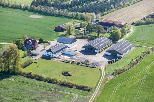 Planteavlsgård på Dævidsrødvej i Slagelse - Ejendommen