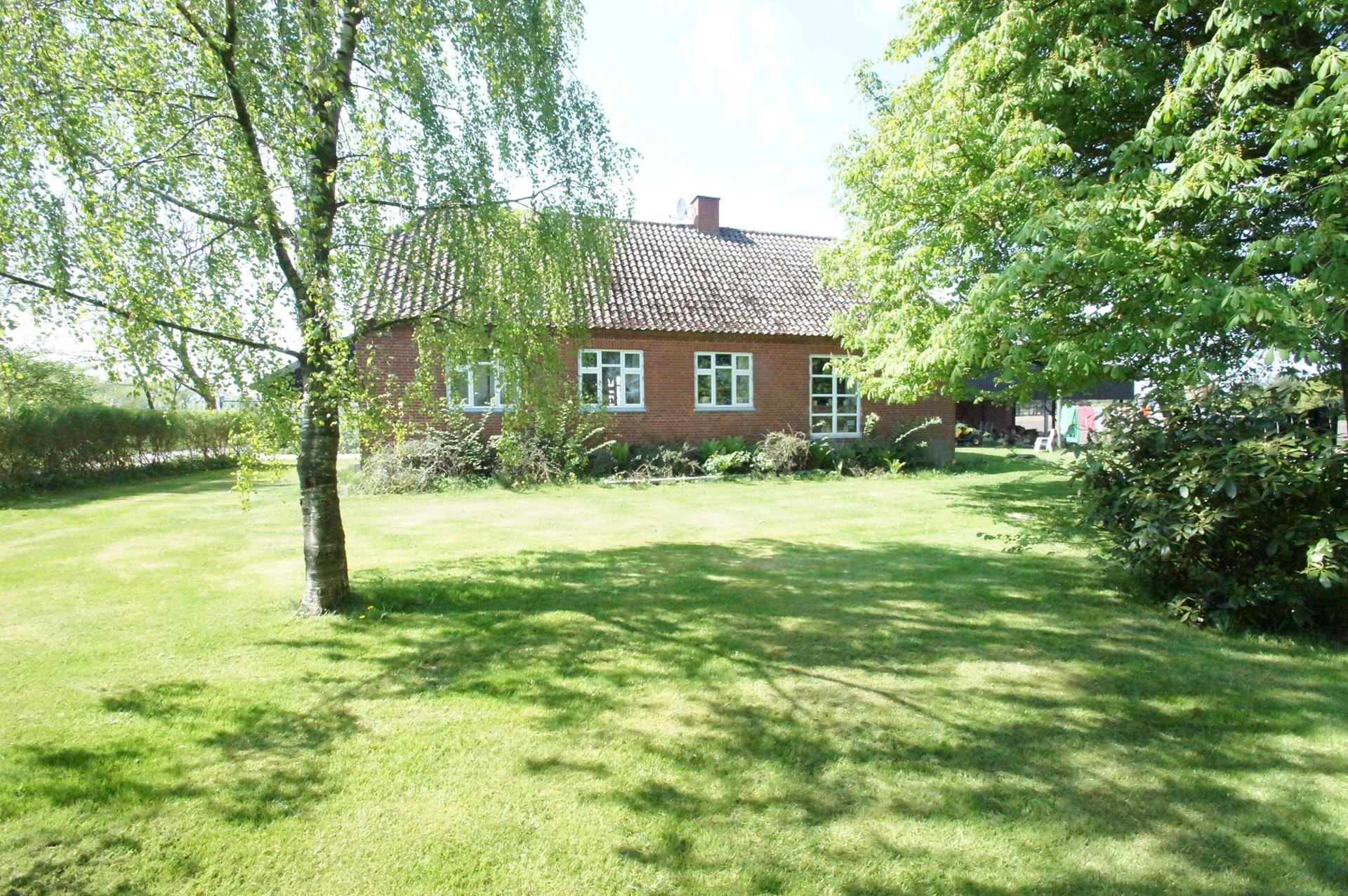 Kvæggård på Nejstvej i Sindal - Stuehus