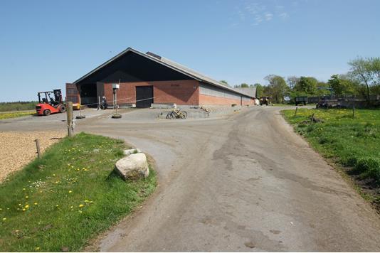 Kvæggård på Nejstvej i Sindal - Ejendommen