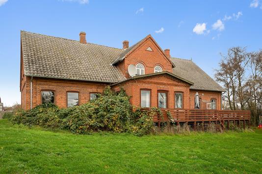 Planteavlsgård på Vestervej i Humble - Ejendommen