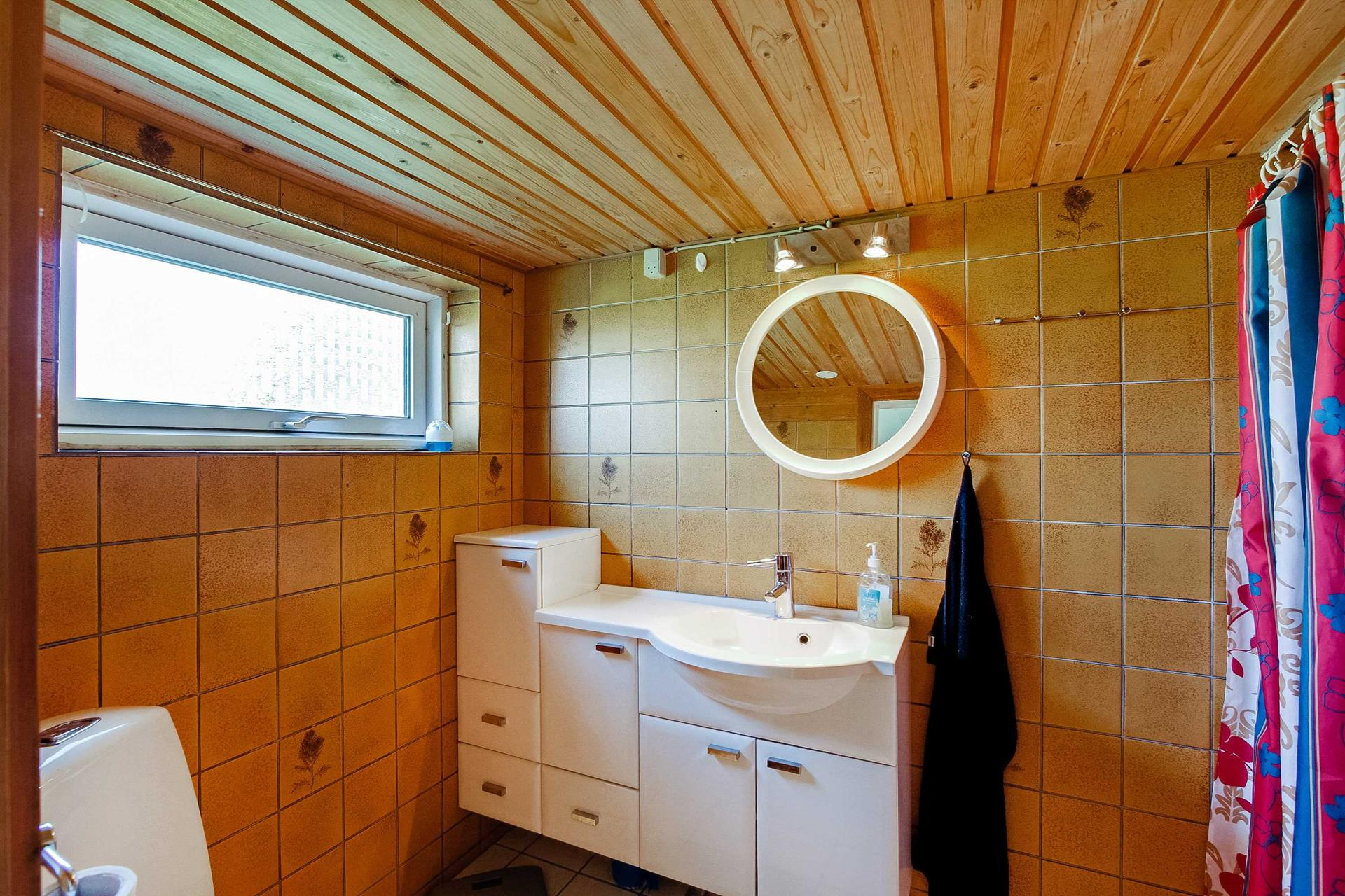 Fritids/Lystejendom på Østermarksvej i Ærøskøbing - Badeværelse