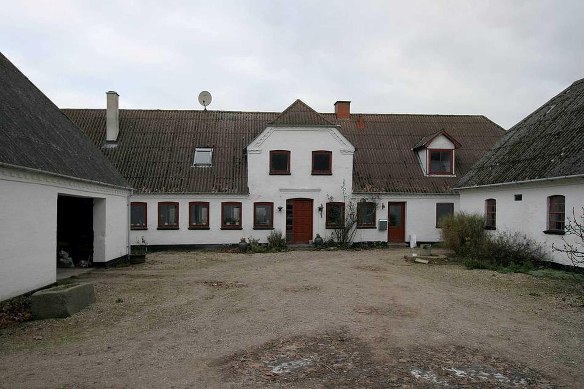 Kvæggård på Karendalsvej i Haarby - Hovedbygning